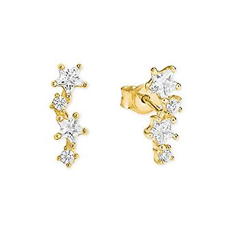 amor Women's gold-yellow pin earrings - 2022916