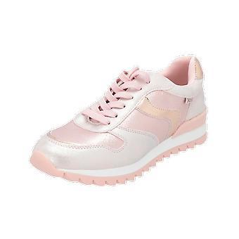XTI 55557 Děti Dívky Tenisky Teniska Béžová Tělocvična Boty Sportovní běžecké boty