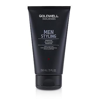Doppi sensi uomini styling gel di potenza (per tutti i tipi di capelli) 233117 150ml/5oz