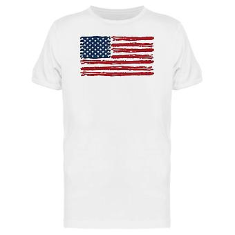 American Flag Stylish Tee Men's -Image by Shutterstock