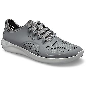 Crocs Mens LiteRide Pacer Trainer Charcoal Grey