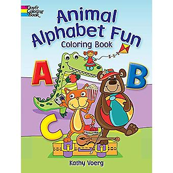 Animal Alphabet Fun Coloring Book by Kathy Voerg - 9780486836508 Book