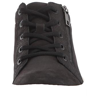 Naturalizer Womens Motley Stoff Hight Top Lace Up Fashion Sneakers