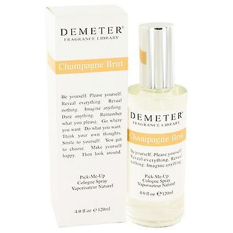 Demeter Champagne Brut Colonia Spray por Demeter 4 oz Colonia Spray
