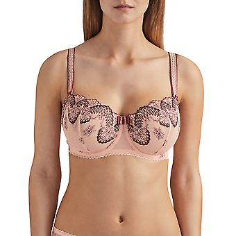 Aubade La Belle Galante QB14-02 Women's Padded Underwired Comfort Half Cup Bra
