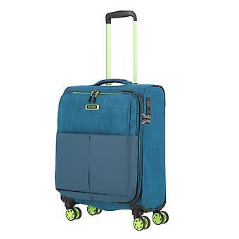 Travelite Proof Hand Luggage Trolley S, 4 ruedas, 55 cm, 36 L, turquesa