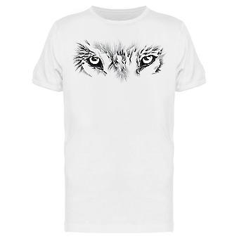 Wolf's Eyes Tee Miehet&s -Kuva Shutterstock