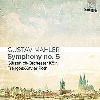 Roth*Fracois-Xavier - Mahler: Symphony No 5 [CD] USA import