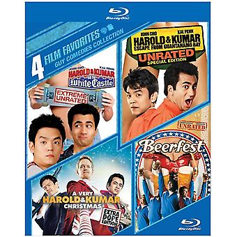 4 Film Favorites: Guy Comedies [BLU-RAY] USA import