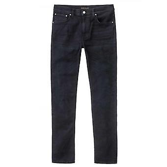 Nudie Jeans Lean Dean Black Out Dark Blue Jean