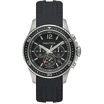 Nautica Watch NAPFRB010 - Silicon Gents Quartz Chronograph