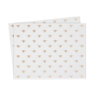 Glitter Bees Place-mats (Pack of 2)