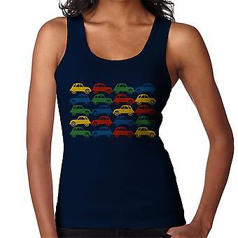 Citro n 2CV Vintage Multi Colour Patroon Dames's Vest