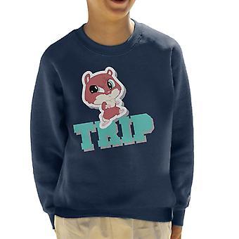 Littlest Pet Shop Trip Kid's Sweatshirt