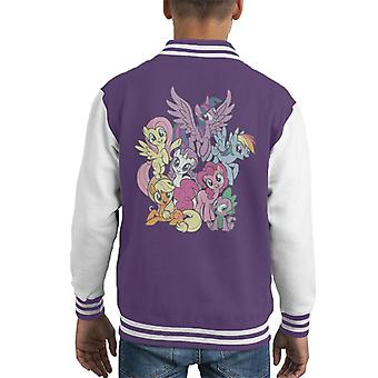 My Little Pony Spike And The Squad Kid's Chaqueta Varsity