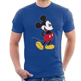 Disney Mickey hiiri nostaa jalka miesten ' s T-paita