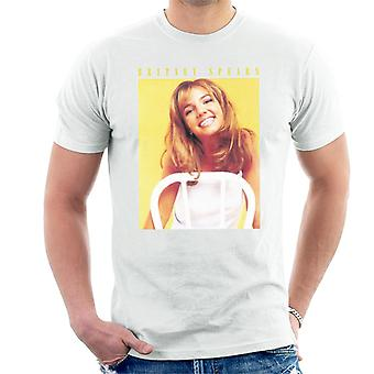 Britney Spears 90er Jahre Foto Herren T-Shirt
