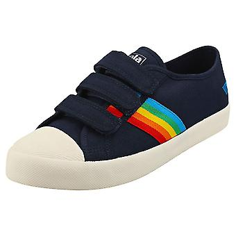 Gola Coaster Rainbow Naisten Muoti Trainers Navy Multicolour