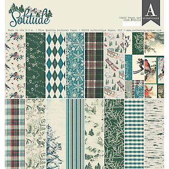 Authentique Solitude 12x12 Calowy papierowy pad