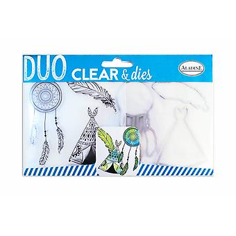 Aladine Clear Timbres & Dies Ethnic
