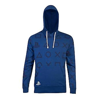 Playstation Hoodie Icons All over print new Official Mens Blue Pullover Playstation Hoodie Icons All over print new Official Mens Blue Pullover Playstation Hoodie Icons All over print new Official Mens Blue Pullover Playstation