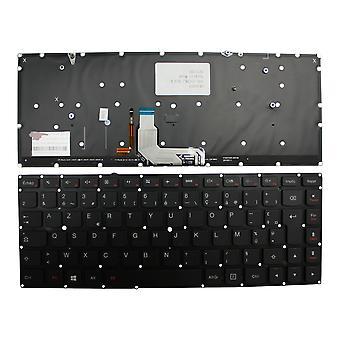 レノボのアイデアパッドヨガ 900-13ISK バックライトブラック Windows 8 フランスのレイアウト交換ラップトップ キーボード