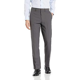 Dockers mannen ' s microfiber mini herringbone jurk Pant, grijs, 33wx30l