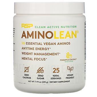 RSP Nutrition, AminoLean, Essential Vegan Aminos, Pineapple Coconut, 7.94 oz (22