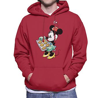Disney Navidad Minnie Mouse festivo hornear hombres's sudadera con capucha