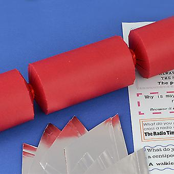 Single Red Make & Fill Your Own DIY Recycleable Christmas Cracker Craft Kit Single Red Make & Fill Your Own DIY Recycleable Christmas Cracker Craft Kit Single Red Make & Fill Your Own DIY Recycleable Christmas Cracker Craft Kit Single Red