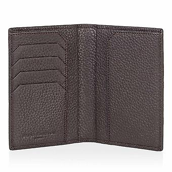 Cocoa Brown Richmond Leather Passport Wallet