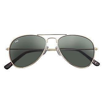 Sunglasses Unisex Ann kat. 3 pilot gold/green