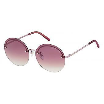 Sunglasses Women's borderless pink
