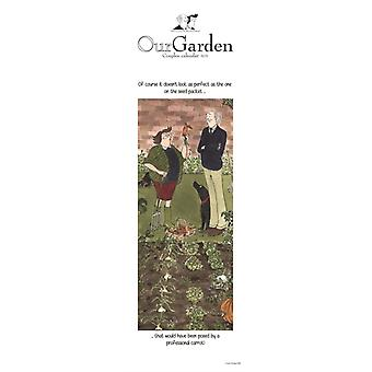 Tottering By Gently Our Garden Couples Slim Planner Calendar 2021