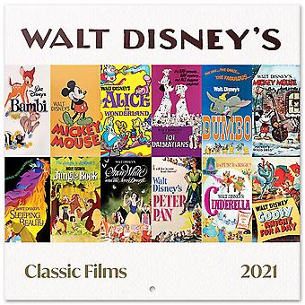 Disney Classic Calendar 2021 Official Calendar 2021, 12 Months, original English version.