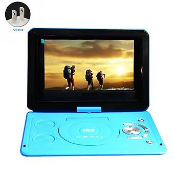 CD Car DVD Player 13.9inch Swivel Screen Portable Outdoor -LCD HD DVD Player USB for Home TV Game Players TV Reception 3D Playback
