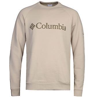 Columbia Beige Lodge Rundhals Sweatshirt