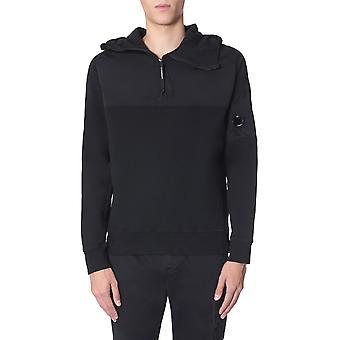 C.p. Company 07cmss115a005114m999 Männer's Schwarze s Baumwoll-Sweatshirt