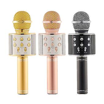 High Sound Quality Bluetooth Wireless Microphone Karaoke Mic - Ktv Music Player & Singing Recorder Handheld Microphone Mic