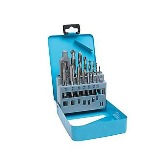 BlueSpot Tools Drill & Tap Set, 15 Piece 20512