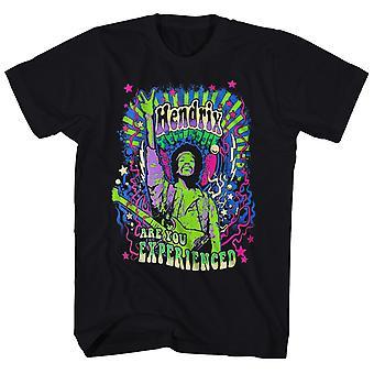 Jimi Hendrix T Shirt Are You Experienced Groovy Neon Jimi Hendrix Shirt