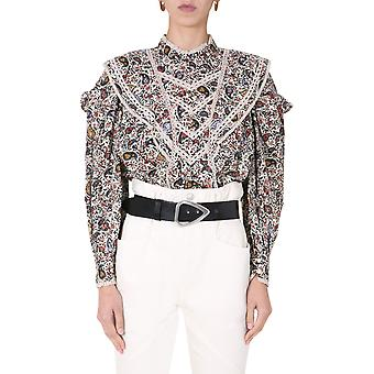 Isabel Marant ÉToile Ht182920a049e23ec Dames's Multicolor Cotton Blouse