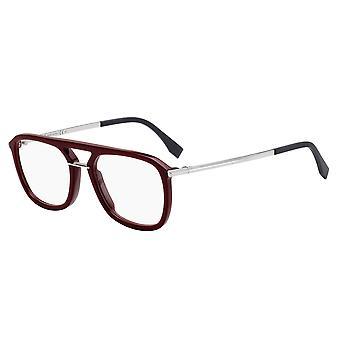 Fendi FF M0033 LHF Opal Burgundy Glasses