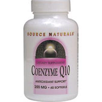 Source Naturals Coenzyme Q10, 200 MG, 90 Softgels