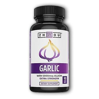 Zhou Nutrition Garlic Extra Strength, 90 Coated Tablets