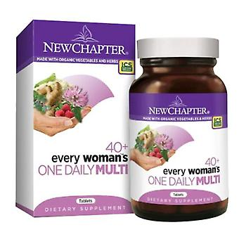 New Chapter Every Woman's One Daily 40 Plus, 48 tabs