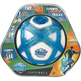 smart ball counting football with closed box with led flashing lights for ages 6