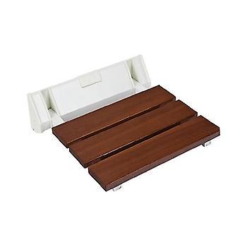 مقعد كرسي قابل للطي للاستحمام الخشبي