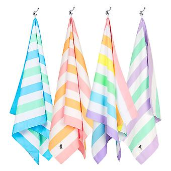 Dock & bay quick dry beach towels - summer - set of 4