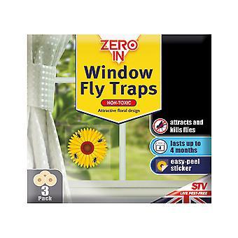 STV Window Fly Stickers x 3 ZER011